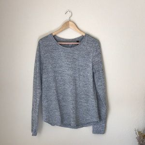 90 Degrees by Relfex long sleeve heather grey top